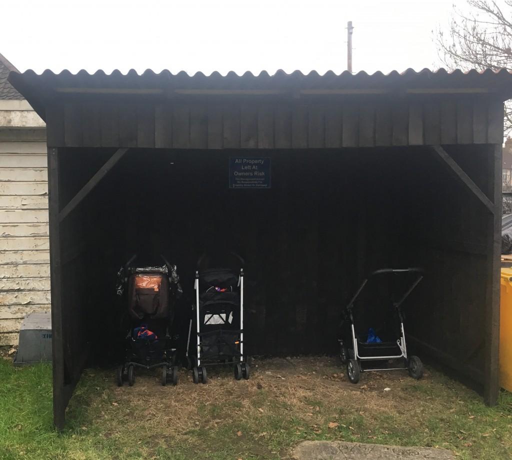 Buddy/ Pushchair Shelter